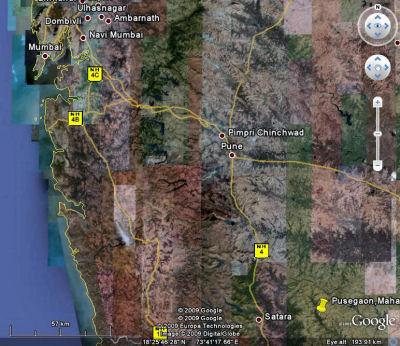 Nonesuch Expeditions Pusegaon, Maharashtra, India on bilaspur map, himachal pradesh map, courtallam map, bijapur map, daman map, bareilly map, sasaram map, gwalior map, agumbe map, dhar city map, lakhimpur kheri map, ullal map, anjuna beach map, sira map, sonamarg map, panhala fort map, sangli map, una map, sonagachi map, khanna map,